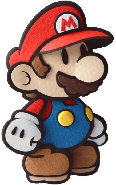 Paper mario sticker star png