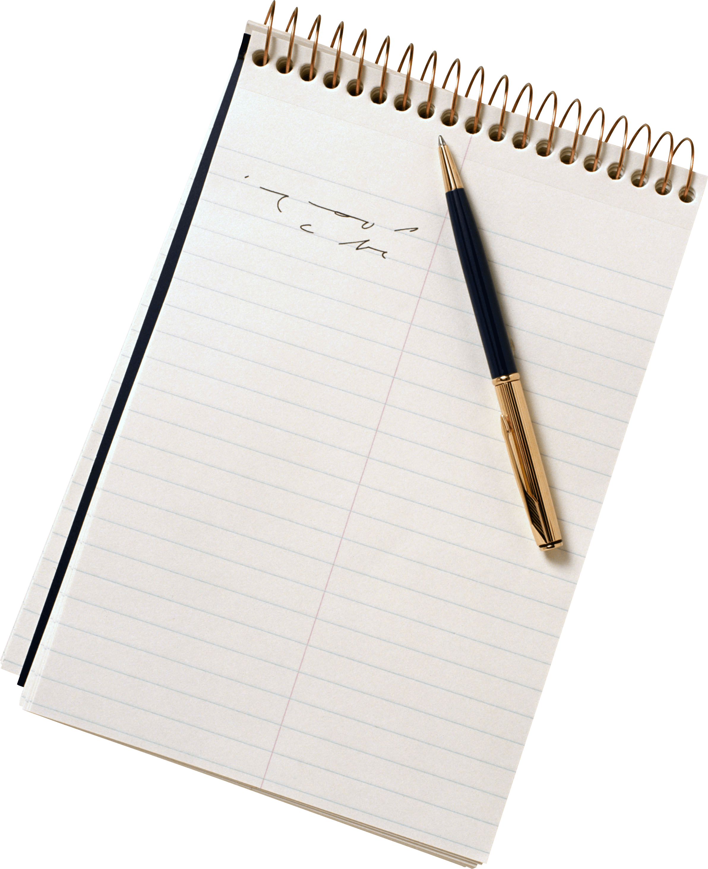 Paper notebook png. Pen sheet transparent stickpng