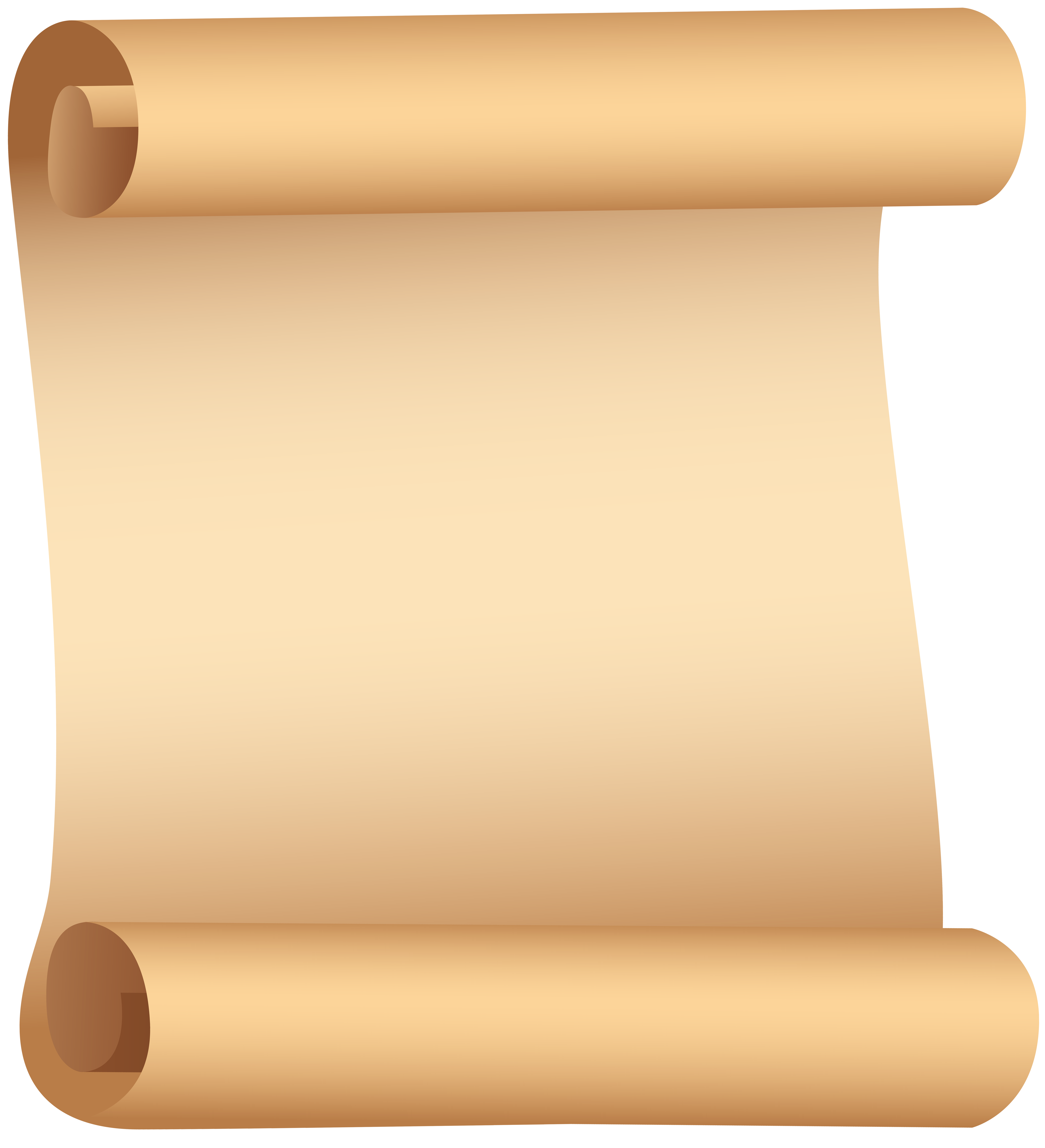 Paper scroll png. Clip art gallery yopriceville