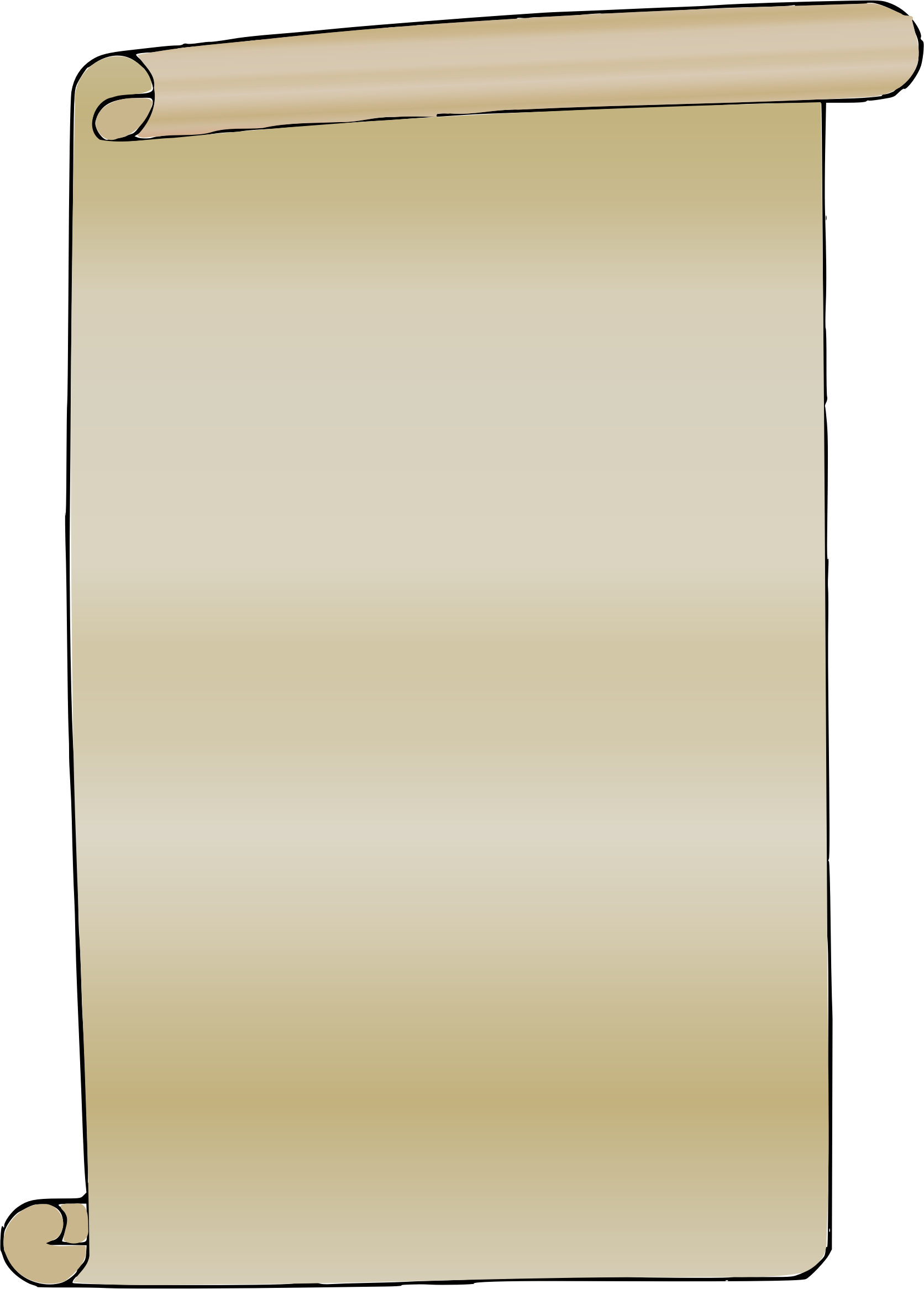 Paper scroll png. Clipart image id photo