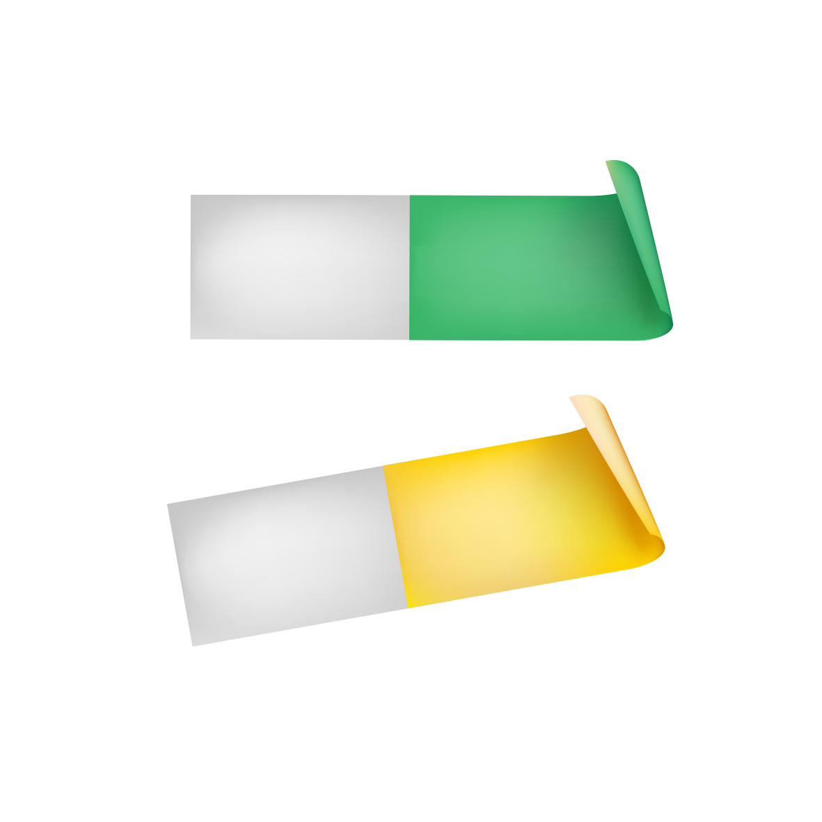Paper sticker png. Post it note color