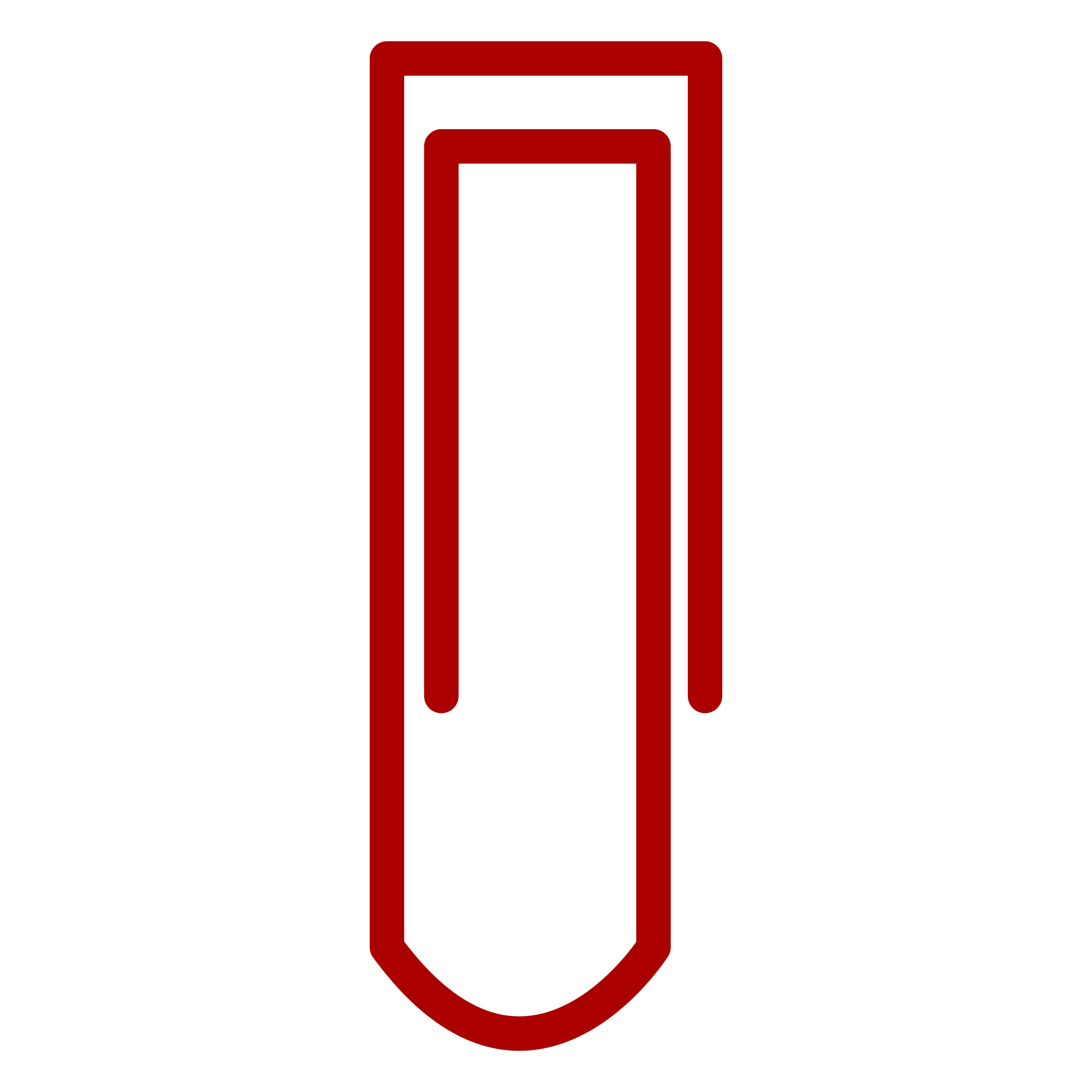 Clip icon office. Clipart stationery paper paperclip