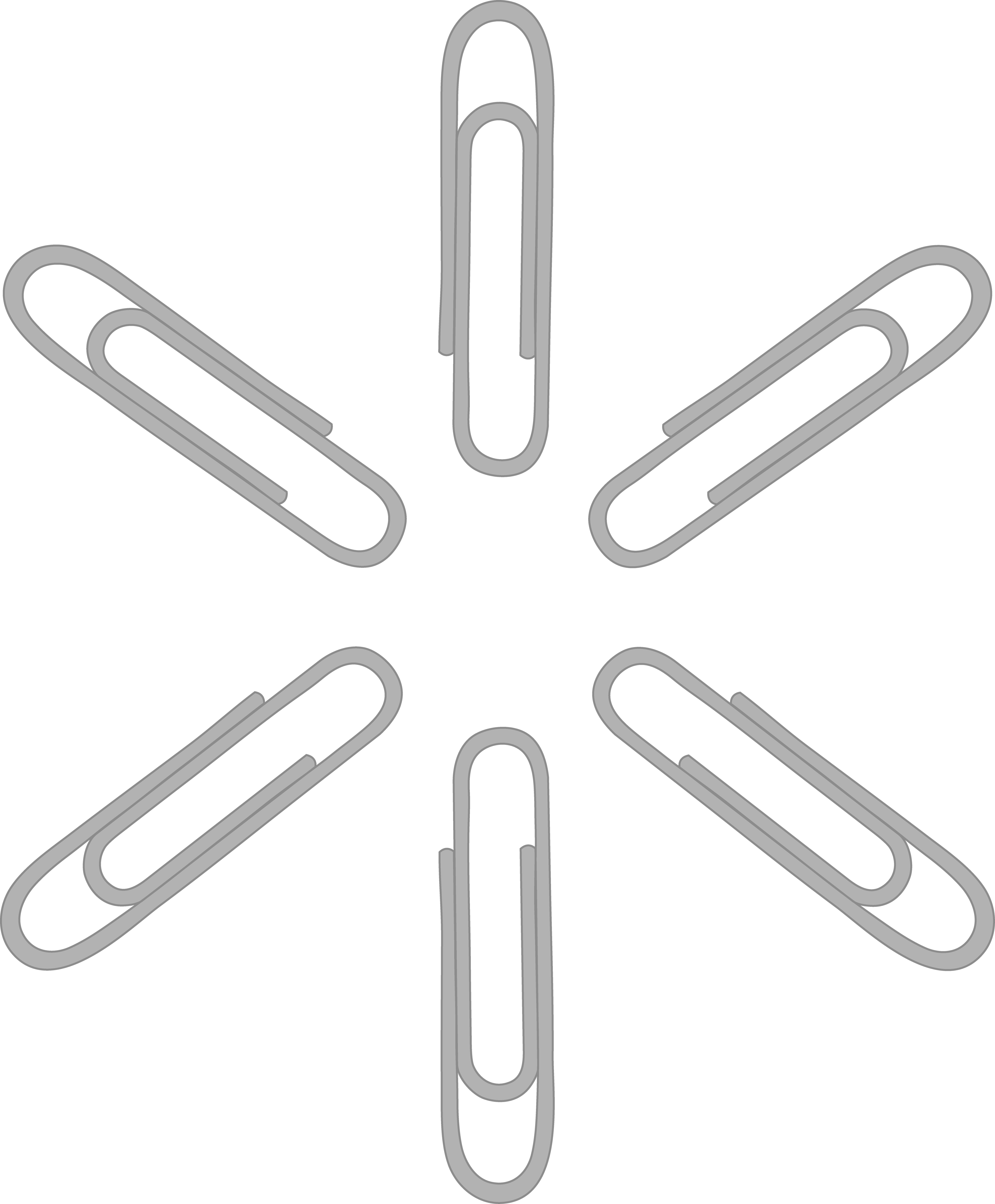 Paperclip clipart paper clip. Silver pattern free art