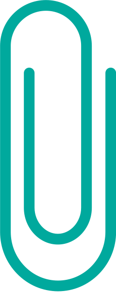 Svg clip vector. Turquoise blue paper data