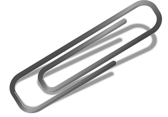 Paperclip vector old. Paper clip clipart free