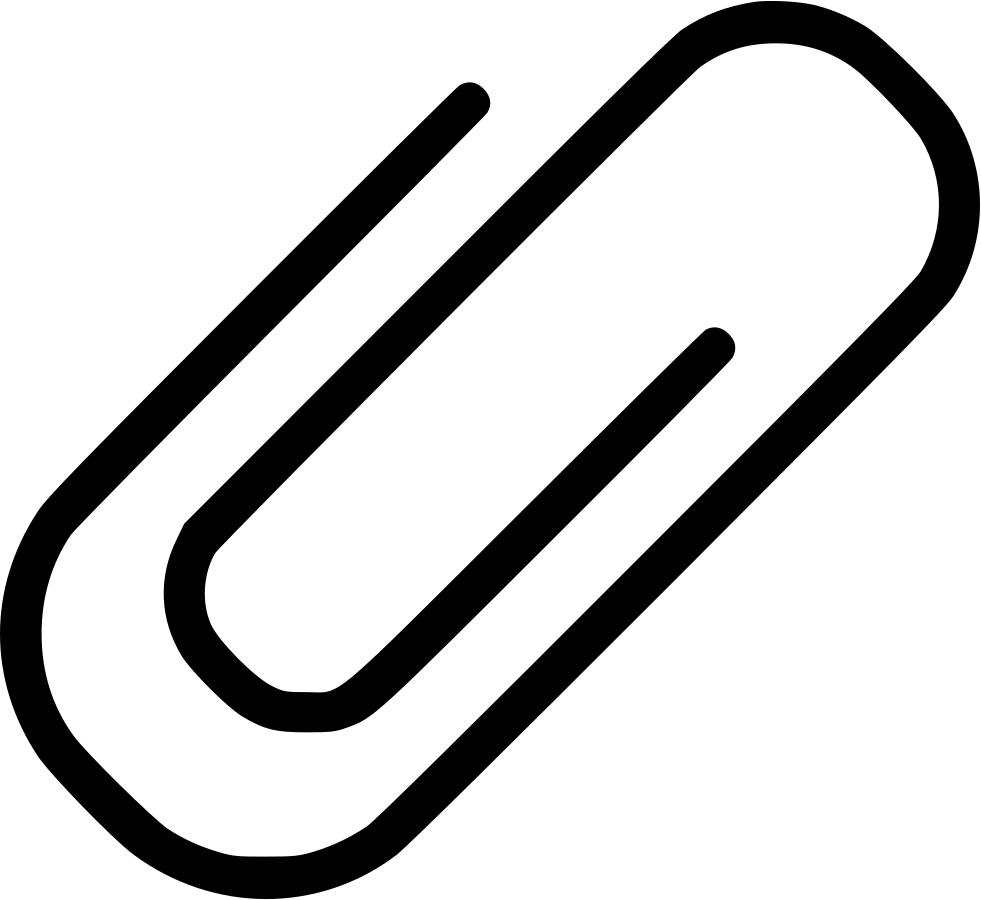 Paperclip vector old. Paper clip svg png