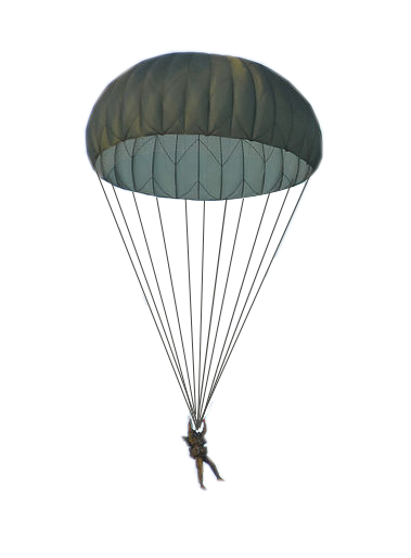 Parachute army png. Tools equipment parachutes