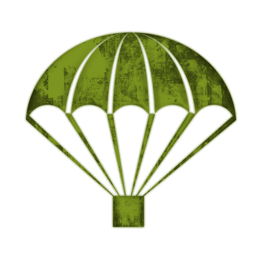 Parachute army png. Collection of clipart