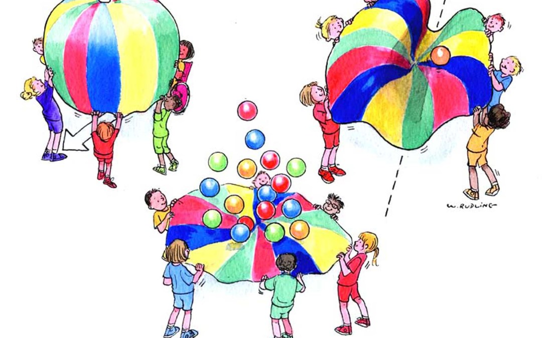 Parachute clipart parachute game. Games children and youth