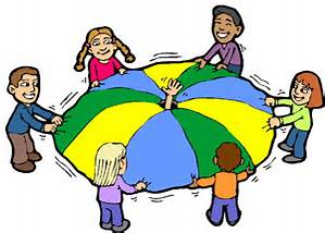 Parachute clipart parachute play. Jigsaw club starts back