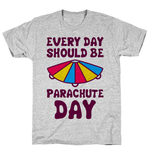 Parachute day png. Fathers nerds t shirts