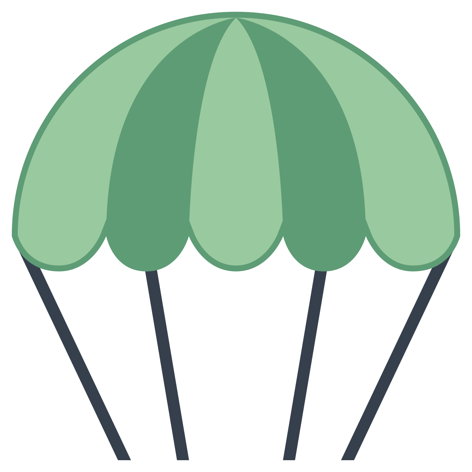 Parachute vector png. Icon free download and