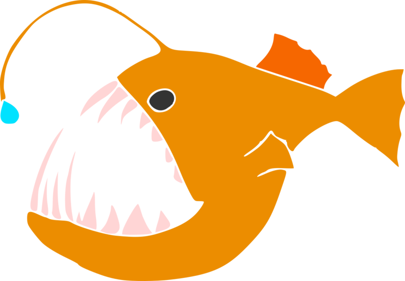 Parasitism drawing angler fish. Will there ever be
