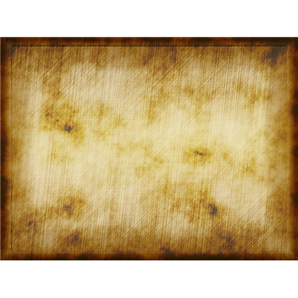 Old parchment paper png. And worn background texture