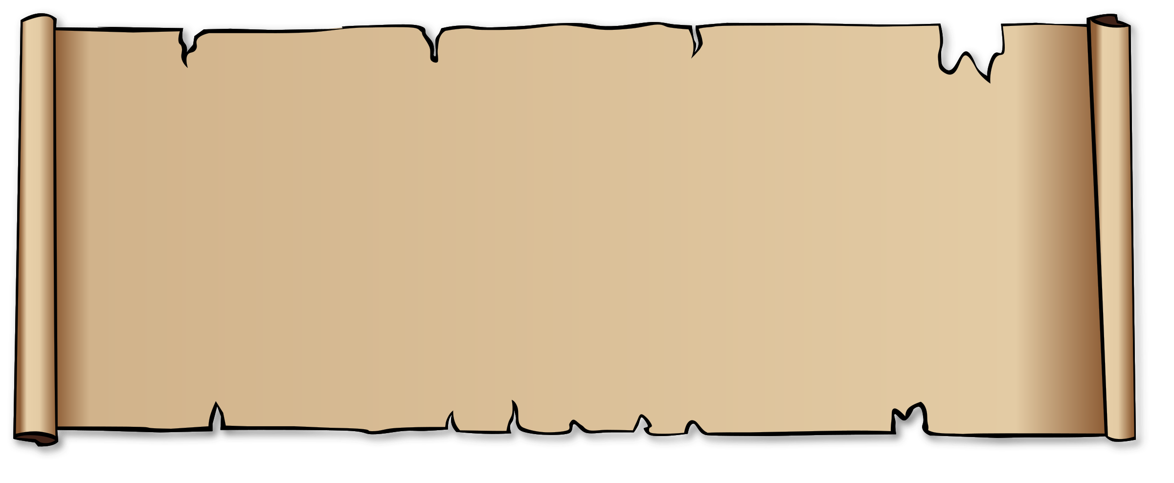 Parchment border png. Clipart background or big