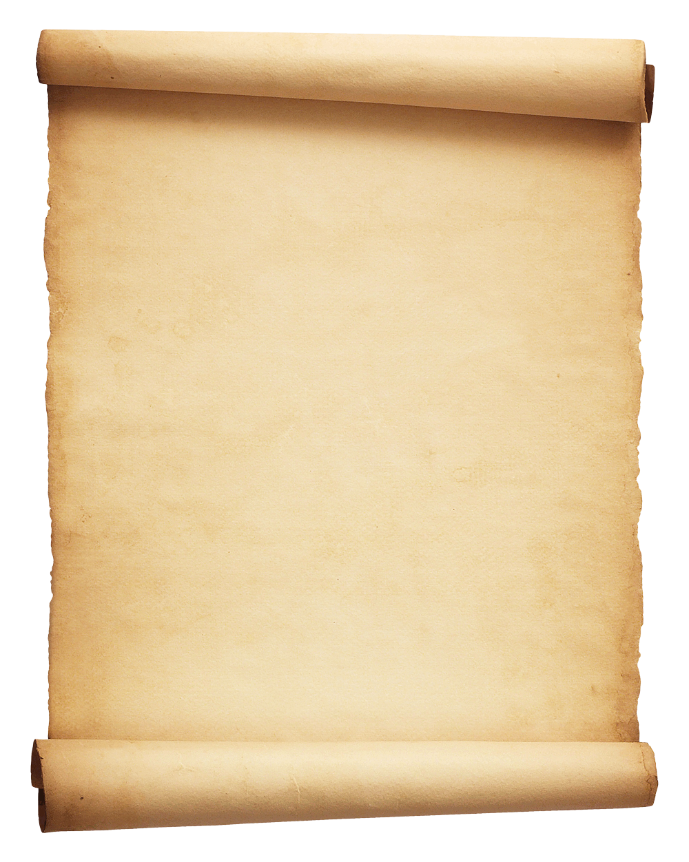 Parchment png. Scroll image purepng free