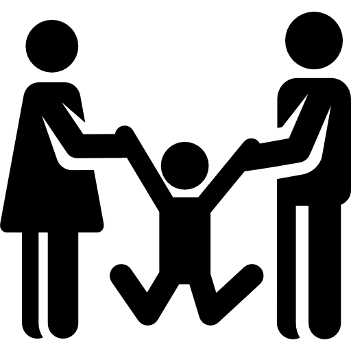 Parents with children png. Icon svg psd more