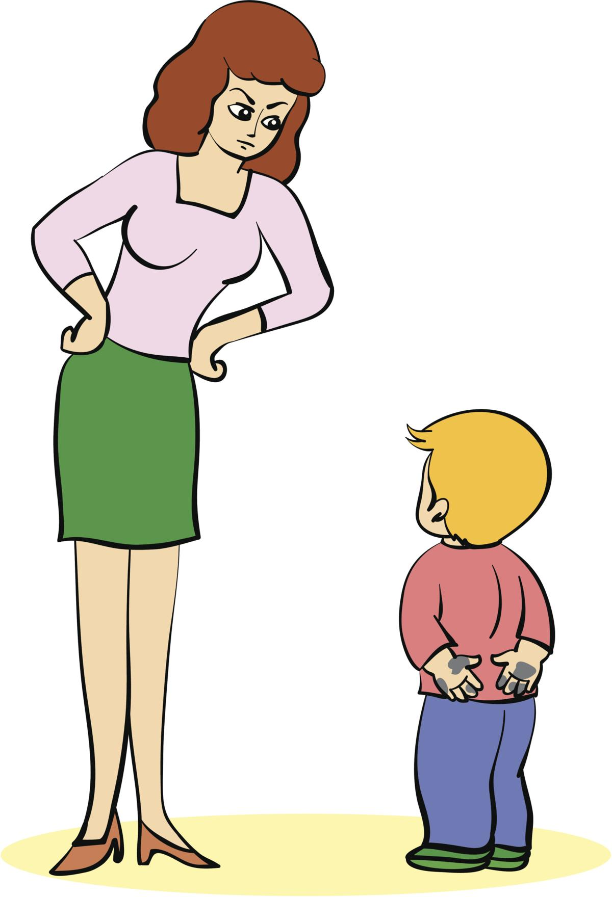 surprisingly harmful things. Parents clipart mad parent picture library stock