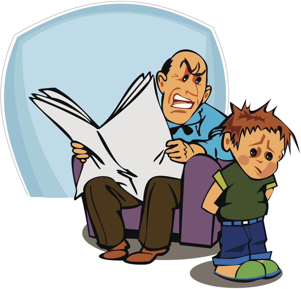 Parents clipart mad parent. Surprisingly harmful things