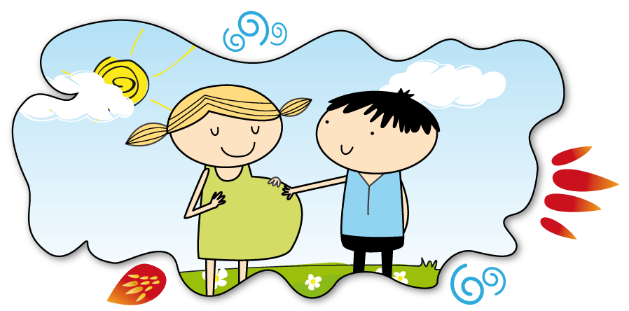 Teen parent support programme. Parents clipart 3 person image free