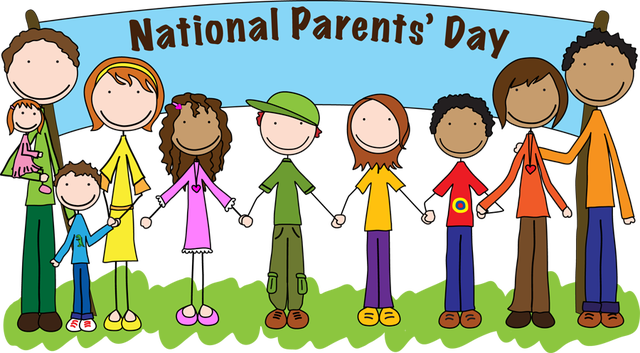 Parent day school . Parents clipart cute graphic library download