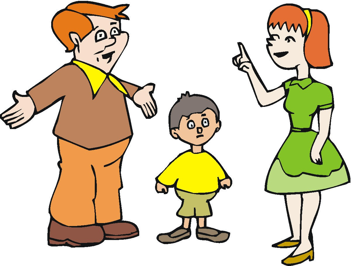 Parents clipart mom dad. Mother and child at