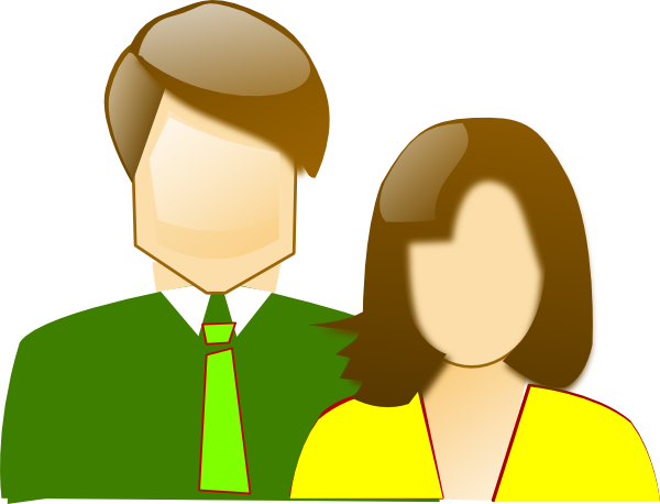 Parents clipart mom dad. Mother and father clip