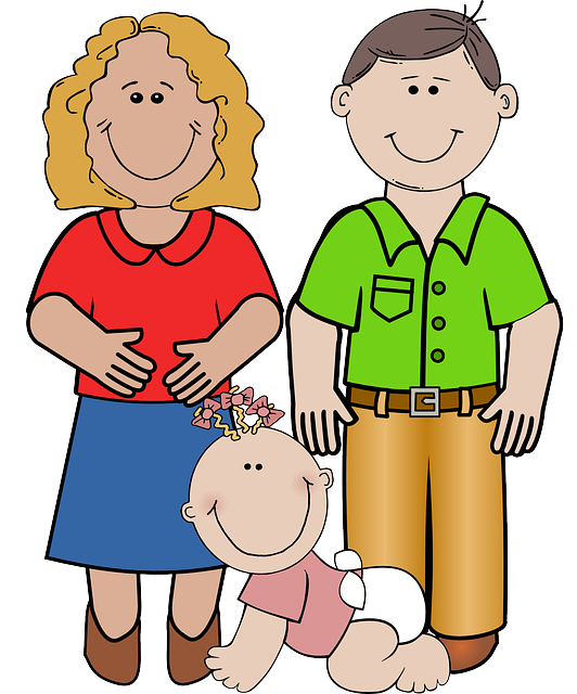 Mother and father png. Parents clipart mom dad vector transparent library