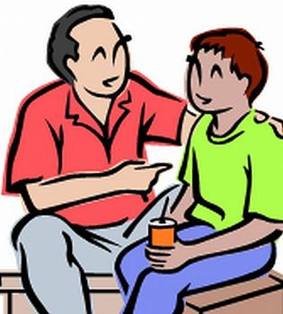 Parents clipart trust. Helping you theteensoup