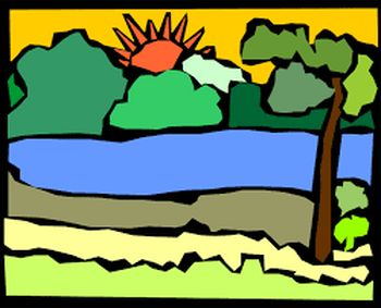 park clipart green valley