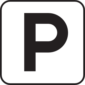 Parking lot clipart black and white. Or garage clip art