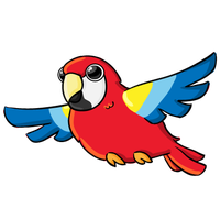 Parrot clipart chibi. Download free png photo