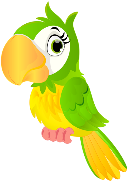 Parrot clipart comic. Cartoon png clip art