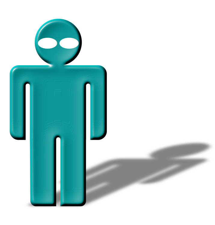 Parrot clipart shadow. Person computer icons silhouette