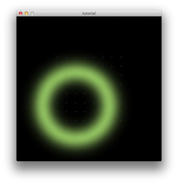 Particle ring png. Write a sketch led