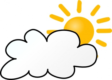 Partly clipart partly cloudy. Clip art free clipartfest