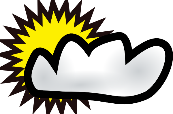 Window clipart windy. Free partly cloudy pictures