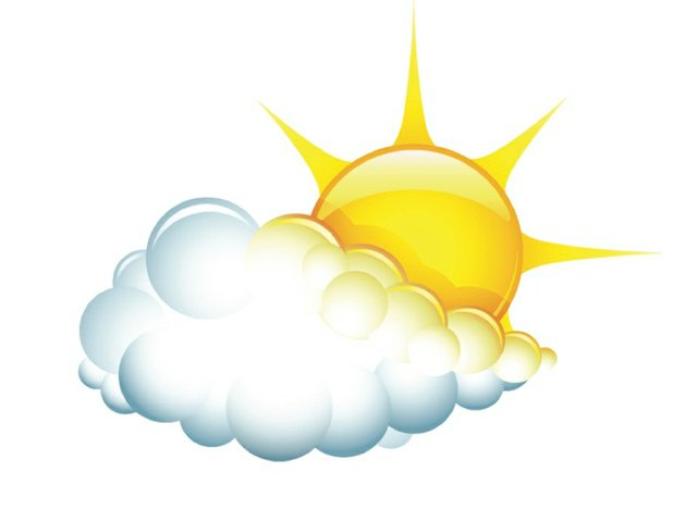 Partly clipart sunny. Weather report march vestaviavoice