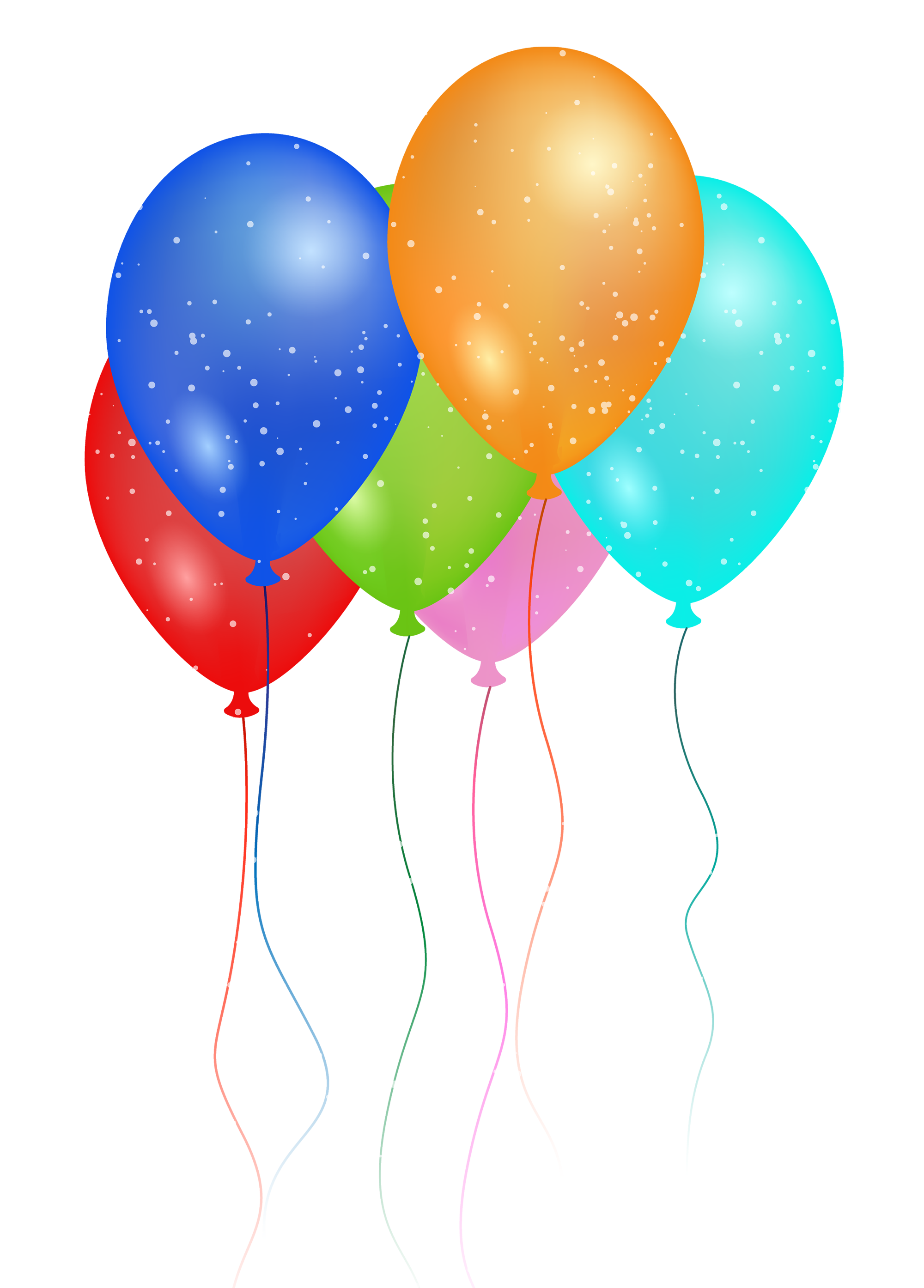 Party ballons png. Birthday balloon image free
