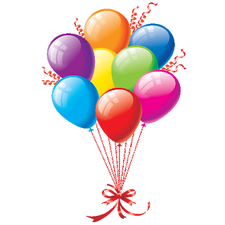 Party ballons png. Clowns and balloons images