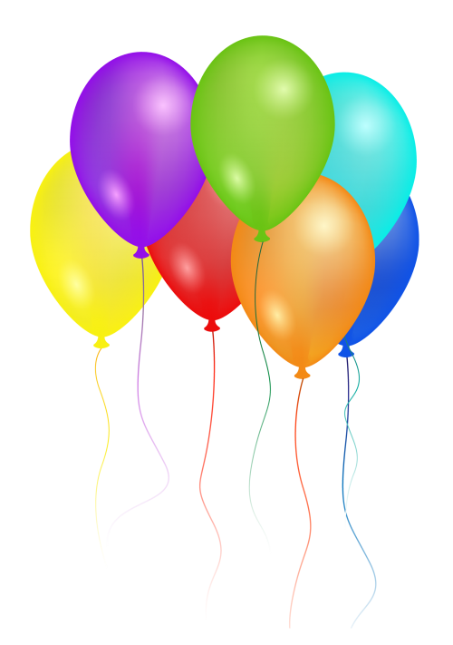 Birthday celebration png. Party balloons image pngpix