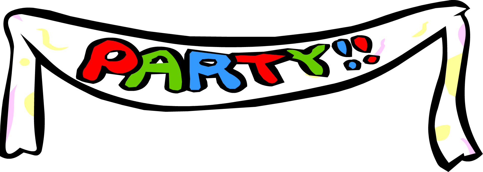 Party banners png. Image banner club penguin