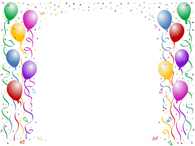 Party border png. Handpicked cool borders for