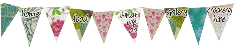 Party bunting png. Welcome to glorious tea