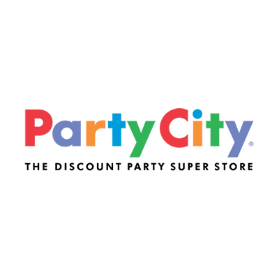 At coconut point a. Party city logo png graphic black and white stock