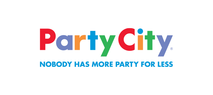 Shop at grasslands . Party city logo png picture black and white stock