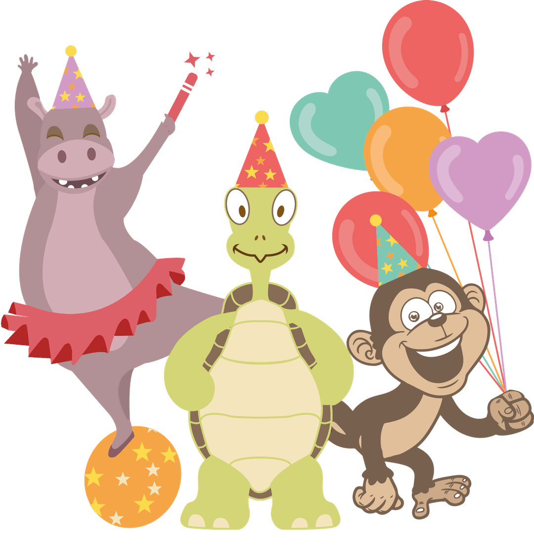 Party clipart business party. Snap balloon services we