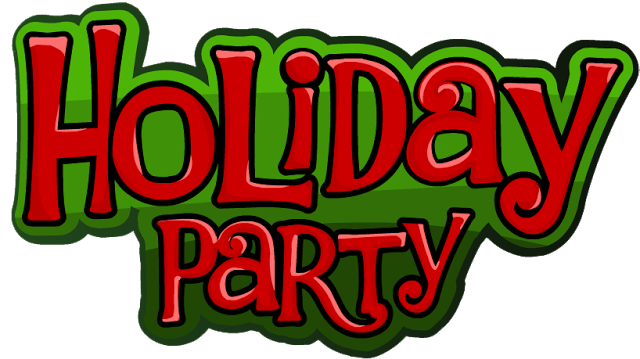 Party clipart office party. Holiday humor company christmas