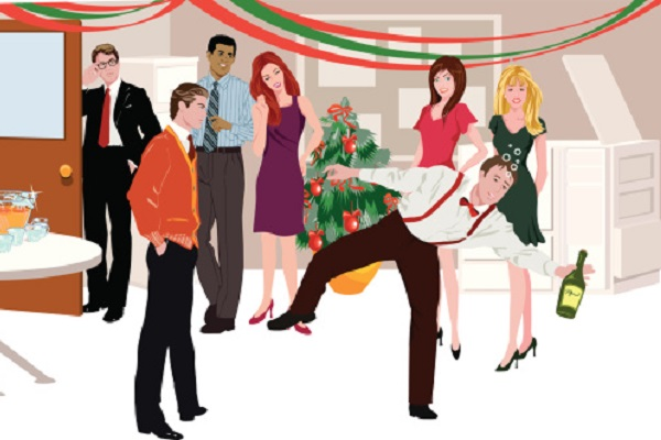 Celebration clipart office. Winter internship and party