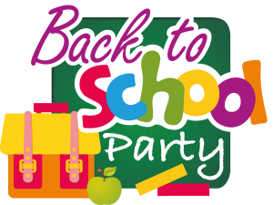 Party clipart school party. Back to durban rd